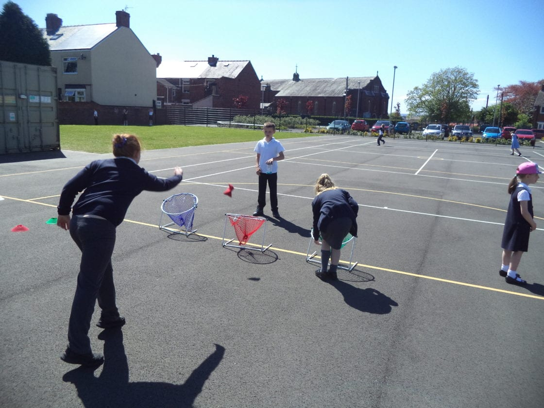 Sports Leaders UK- Play Maker Award- in action!